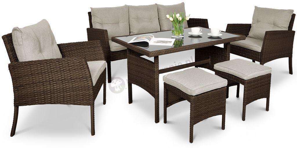 Комплект мебели из техноротанга Cortina