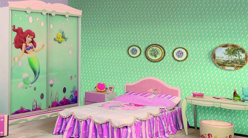 Детская комната Русалочка Дисней 2