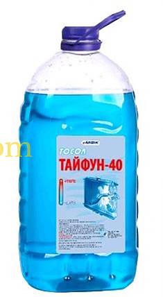 Охлаждающая жидкость   -40C, 1л   ПЭТ кан (тосол, ТАЙФУН)   МФК   (GRS), фото 2