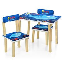 Детский столик и два стульчика 501-74 Shark