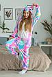 Пижамы кигуруми Блестящий Единорог Искорка на молнии, фото 3