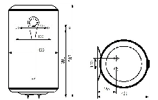 Бойлер Atlantic STEATITE VM  50 D400-2-BC 1500W 841209, фото 2