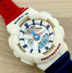 Casio Baby-G GA-110 GA-110 Red-Blue-White