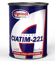 Смазка АГРИНОЛ ЦИАТИМ-221 банка 0,8кг