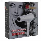Фен для укладки волос профессиональный 3600 Ватт  Domotec 0818 Белый, фото 3