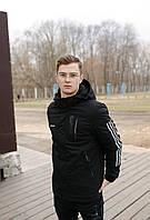 Двухсторонняя спортивная мужская куртка Adidas, фото 1