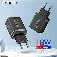 ROCK 18 Вт QC 3,0 USB быстрое зарядное устройство для телефона, фото 1