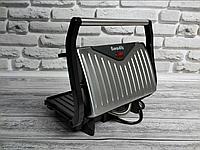 Гриль контактный Rainberg RB-5401 барбекю-электрогриль Раинберг 1500W, сендвичница, бутербродница + подарок