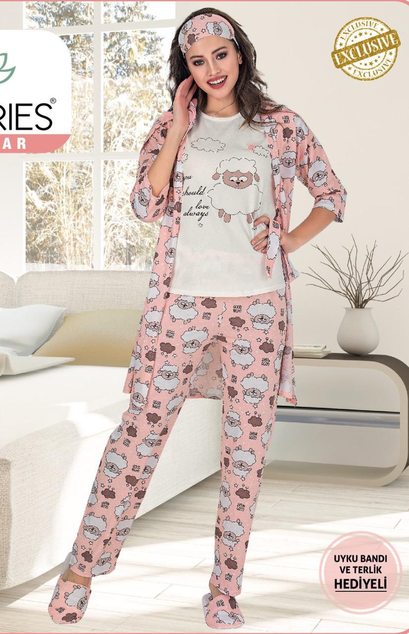 Жіночий  піжамний комплект 5 LE'MARIES L