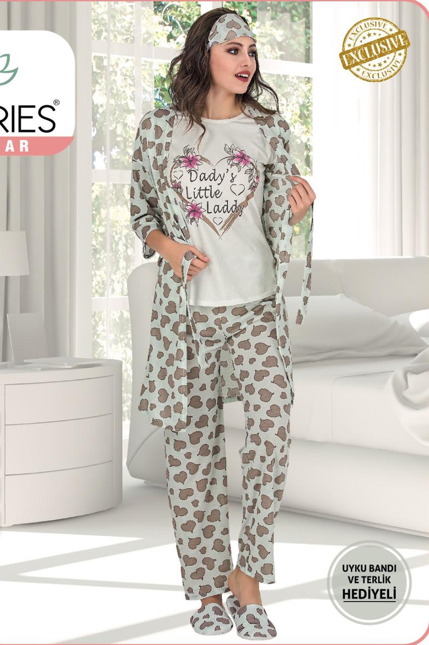 Жіночий піжамний комплект 5 LE'MARIES M L XL