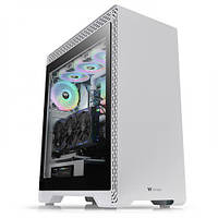 Корпус Thermaltake TT Premium S500 TG/White/Win/SPCC/Tempered Glass*1/1x140mm+1x120mm Standard Fan (CA-1O3-00M6WN-00)