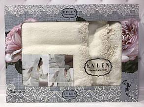 Набор Miss Bella : халат, полотенца 50х90, 30х50см. Бамбук. Турция.№10