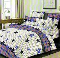 Комплект постельного белья Бязь Gold (сатин) Евро размер 200 х 215 см.