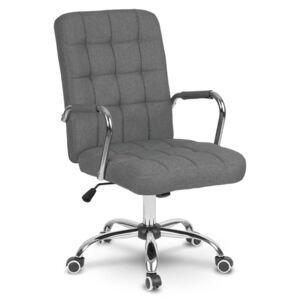 Крісло офісне Benton текстиль сірий (9187)