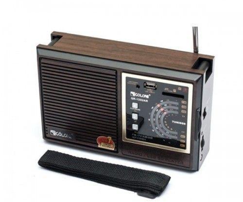 Радиоприемник Golon RX-9933UAR+Аудио выход+USB слот+SD кардридер