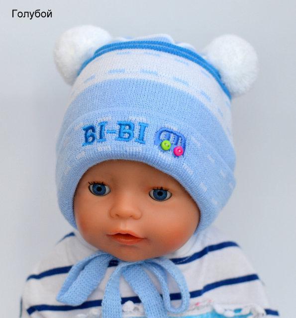Осенние шапочки для новорожденных