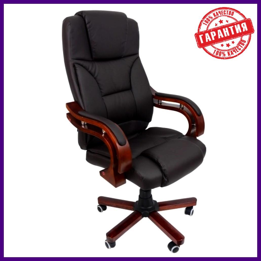 """Офісне комп'ютерне крісло PRESIDENT Premier 8005 ЧОРНЕ """"Еко шкіра"""" ПОЛЬЩА"""