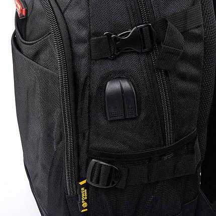 Рюкзак Городской нейлон Power In Eavas 9629 black, фото 2