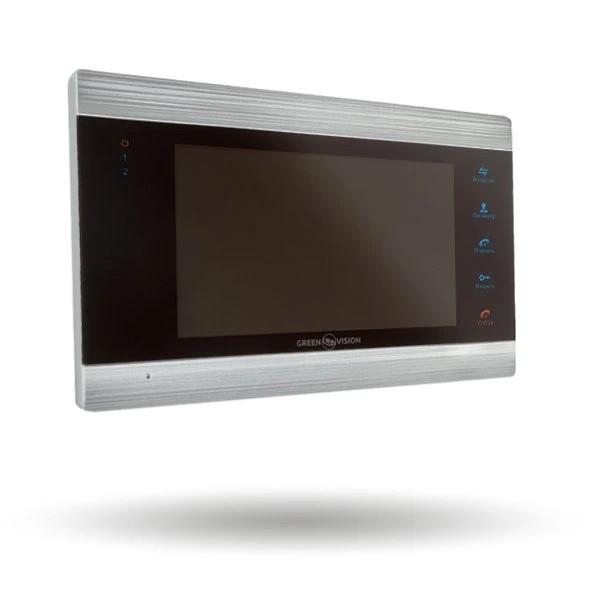 Видеодомофон Green Vision GV-052-J-VD7SD Silver