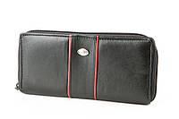 Кожаный кошелёк на молнии, фото 1