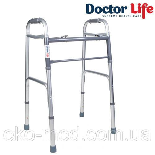 Ходунки для інвалідів складні алюмінієві Dr.Life 12850