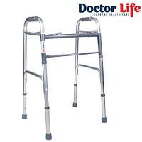 Ходунки для инвалидов складные алюминиевые Dr.Life 12850