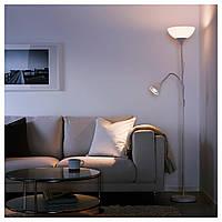 IKEA NOT (ИКЕА НУТ)  Артикул: 803.048.75  Светильник напольный/для чтения, белый