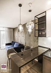 "ЖК ""Central park"" - modern apartment with loft elements.    #dsavtograf #kyivdesign #design #interior #interiordesign #loft #urban #indastrial #furniture #scandinavian #livingroom #decor"