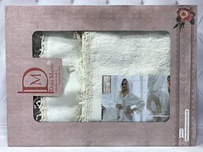 Набор Miss Bella : халат, полотенца 50х90, 30х50см. Бамбук. Турция.№11