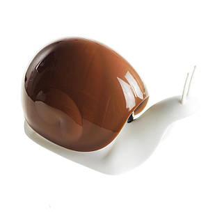 Дозатор для мыла Supretto Улитка 17х7х10,5 см кофейный (5545-0001)