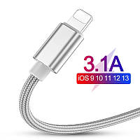 Jellico 3.1A USB кабель для быстрой зарядки для iPhone 8 7 6 6S 5 5S XS Max XR X iPad
