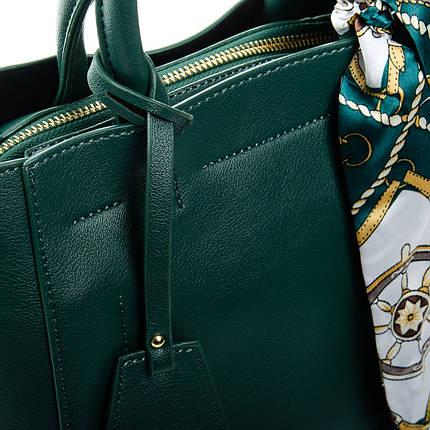 Сумка Женская Классическая иск-кожа FASHION 1-03 7008 green, фото 2