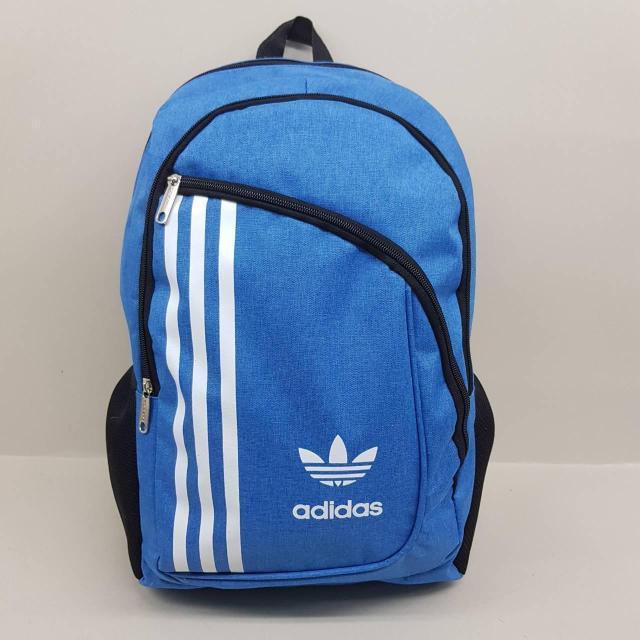 Городской спортивный рюкзак Adidas, Адидас голубой