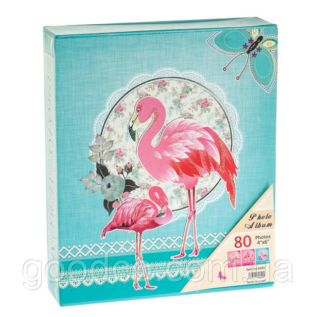 "Фотоальбом ""Фламинго"" (80 фото 10х15)"