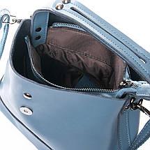 Сумка Женская Классическая кожа ALEX RAI 010-1 9924-206 blue, фото 3