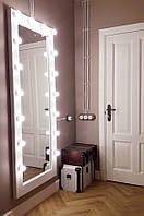 Дзеркало навісне з лампами 1800х800