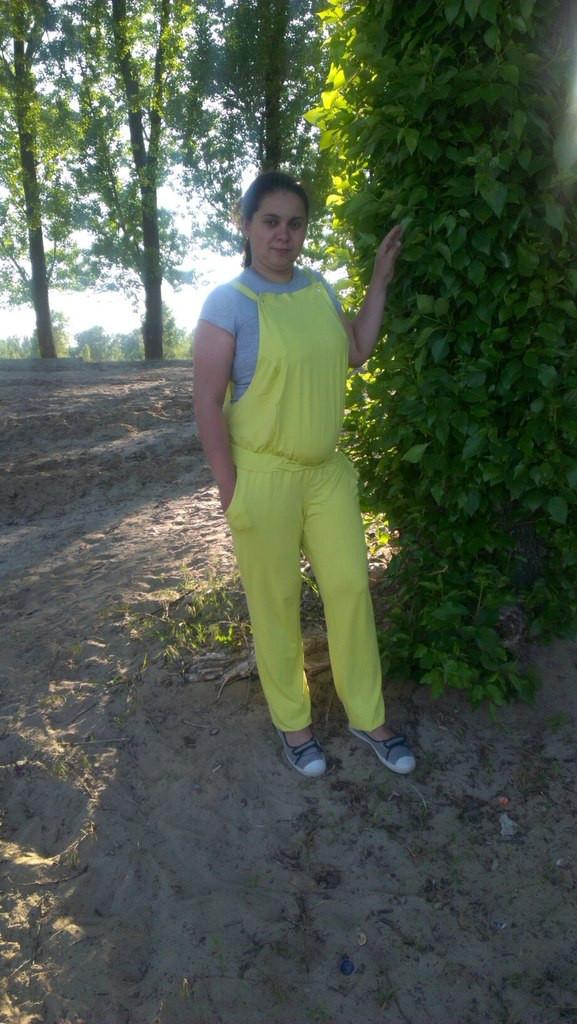 8d78e412d7c9 Комбинезон летний для беременных( фото клиентки) - HAPPY MAMA - одежда для  беременных и