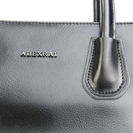 Сумка Женская Классическая кожа ALEX RAI 08-4 1527 black, фото 2