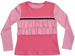 "Блуза для девочки ""Оборки"""
