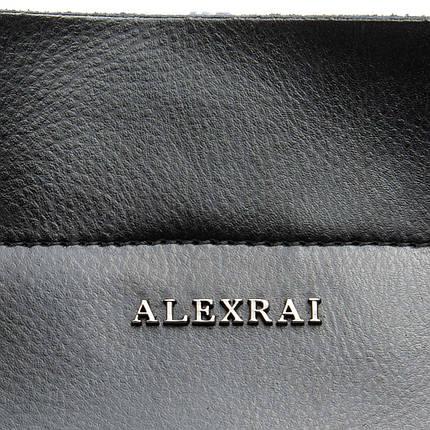 Сумка Женская Классическая кожа ALEX RAI 08-4 8630 black, фото 2