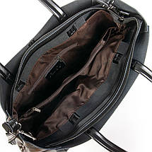 Сумка Женская Классическая кожа ALEX RAI 08-4 8630 black, фото 3