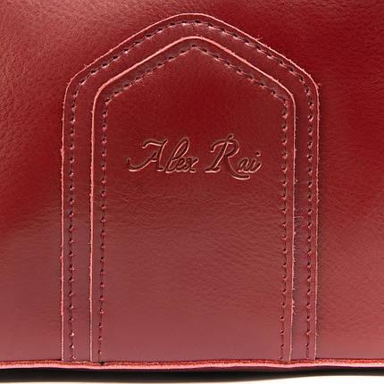 Сумка Женская Классическая кожа ALEX RAI 08-4 8641 wine, фото 2