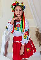 Український народний костюм для дівчинки
