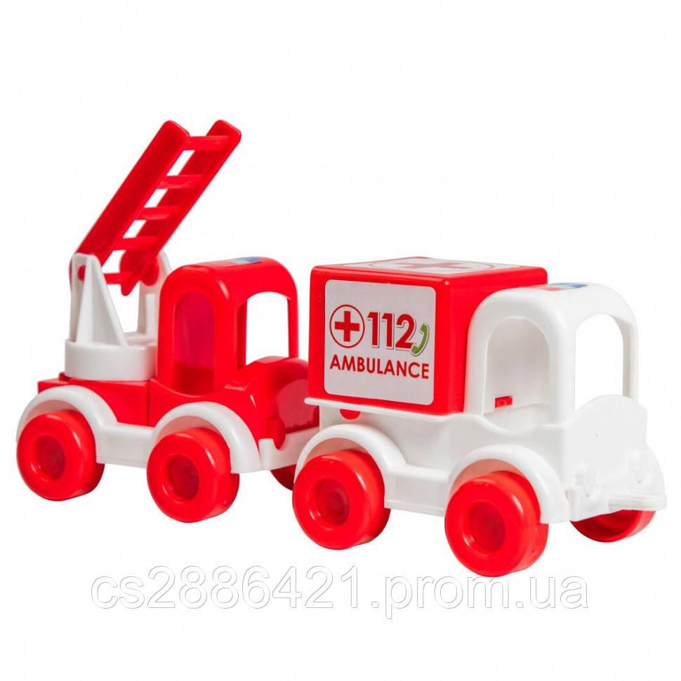"Набор авто ""Kid cars"" скорая 39549"