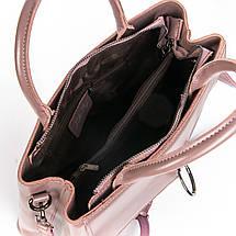 Сумка Женская Классическая кожа ALEX RAI 08-4 9921 purple, фото 3