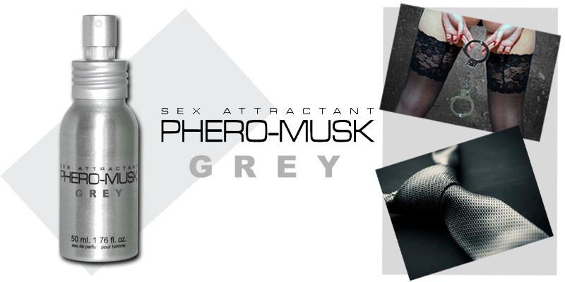 Духи PHERO-MUSK GREY 50 ML for men
