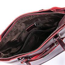 Сумка Женская Классическая кожа ALEX RAI 09-3 9322 wine-red, фото 3