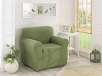 Чехол для кресла без оборки Зеленый