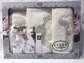 Набор Miss Bella : халат, полотенца 50х90, 30х50см. Бамбук. Турция.№14