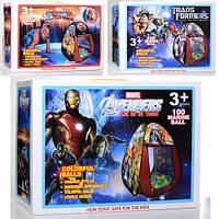 Детская игровая палатка с трансофрмерами и супергероями из Мстителей, M 6146